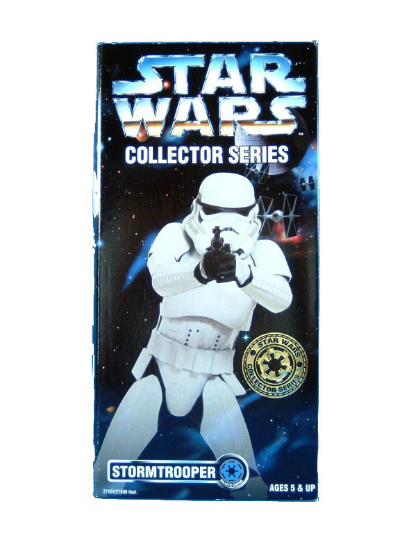"1997 Star Wars POTF2 12"" STORMTROOPER Sealed"